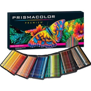 The Best Colored Pencils Options: Prismacolor Premier Colored Pencils, 150 Pack
