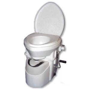 最好的堆肥厕所选择:自然的头干燥堆肥厕所与曲柄
