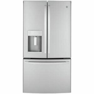 The Best Counter-Depth Refrigerator Option: GE 22.1 cu. ft. French Door Refrigerator
