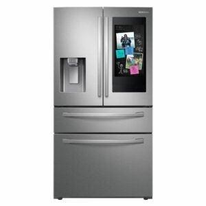 The Best Counter-Depth Refrigerator Option: Samsung Family Hub French Door Smart Refrigerator