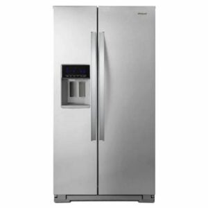 The Best Counter-Depth Refrigerator Option: Whirlpool Counter-depth Side-by-Side Refrigerator