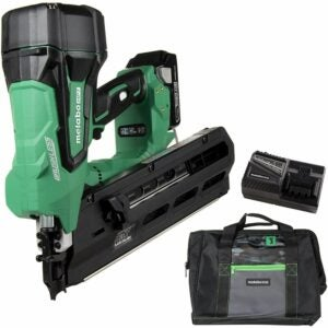 The Best Framing Nailer Option: Metabo HPT Cordless Framing Nailer Kit, 18V