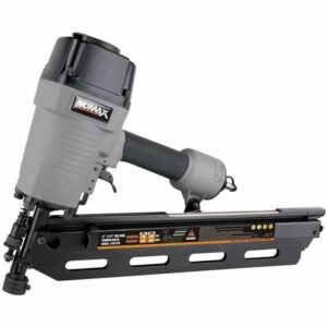 The Best Framing Nailer Option: NuMax SFR2190 Pneumatic 21 Degree Framing Nailer