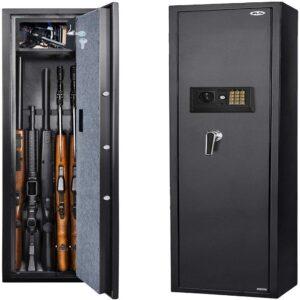 The Best Gun Safes Options: Moutec Large Rifle Safe