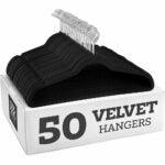 The Best Hangers Option: Zober Non-Slip Velvet Hangers