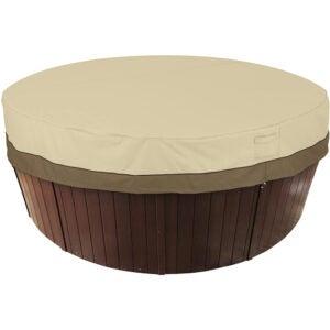 最好的热水浴缸盖选项:经典配件阳台防水盖