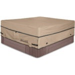 The Best Hot Tub Covers Options: ULTCOVER Waterproof Polyester Square Hot Tub Cover