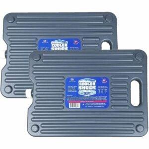 用于冷却器的最佳冰块选项:冷却器休克18度F.硬包装