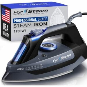 The Best Irons Option: PurSteam Professional Grade 1700W Steam Iron