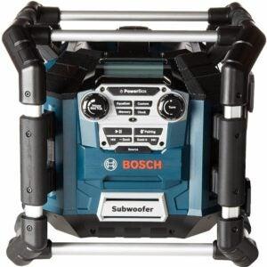 The Best Jobsite Radio Option: Bosch Bluetooth Power Box Jobsite Radio PB360C