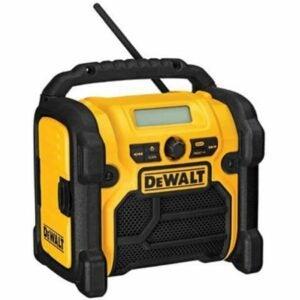 The Best Jobsite Radio Option: DEWALT 20V MAX / 18V / 12V Jobsite Radio