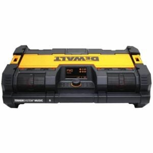 The Best Jobsite Radio Option: DEWALT ToughSystem Radio and Battery Charger