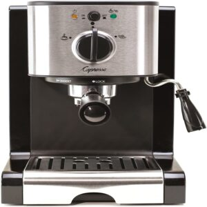 The Best Latte Machine Option: Capresso 116.04 Pump Espresso and Cappuccino Machine