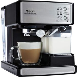 The Best Latte Machine Option: Mr. Coffee Espresso and Cappuccino Maker