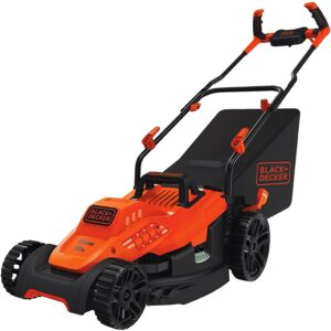 The Best Lawn Mower For Small Yards Option: BLACK+DECKER Electric Lawn Mower 10-Amp, 15-Inch