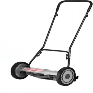 The Best Lawn Mower For Small Yards Option: Great States 815-18 18-Inch 5-Blade Push Reel Mower