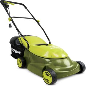 The Best Lawn Mower For Small Yards Option: Sun Joe MJ401E-PRO 14 inch 13 Amp Electric Lawn Mower