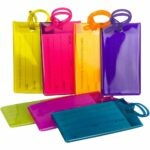 The Best Luggage Tags Option: 7 Pack TravelMore Luggage Tags
