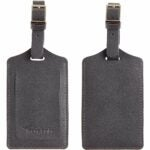 The Best Luggage Tags Option: Travelambo Leather Luggage Bag Tags