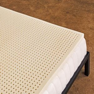 The Best Mattress Topper For Back Pain Options: Pure Green 100% Natural Latex Mattress Topper