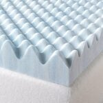 The Best Mattress Topper For Back Pain Options: Zinus 3 Inch Swirl Gel Memory Foam Mattress Topper