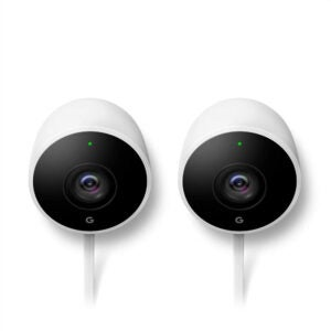 The Best Outdoor Security Camera Options: Google Nest Cam Outdoor 2-Pack Outdoor Camera