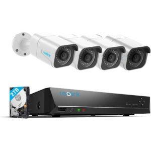 最好的户外安全摄像机选项:Reolink 4K PoE安全摄像机系统