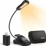 The Best Reading Light Option: Vekkia Book Light Set with Charger