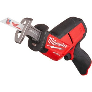 The Best Reciprocating Saw Options: Milwaukee 2520-20 M12 Hackzall Bare Tool