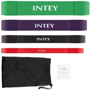 The Best Resistance Bands Options: INTEY Pull up Assist Band Exercise Resistance Bands