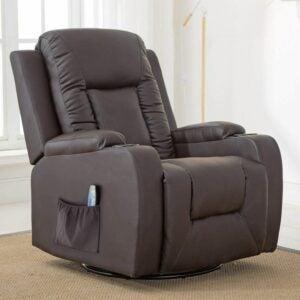 最好的摇椅选项:Comhoma躺椅按摩摇杆