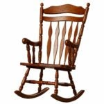 The Best Rocking Chair Option: Loon Peak Greenwood Rocking Chair