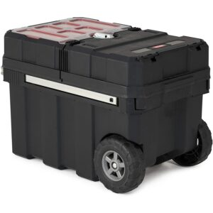 The Best Rolling Tool Box Option: Keter Masterloader Resin Rolling Tool Box