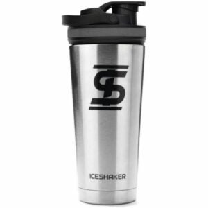 The Best Shaker Bottle Option: Ice Shaker Stainless Steel Insulated Water Bottle