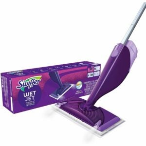 The Best Spray Mop Option: Swiffer WetJet Hardwood and Floor Spray Mop