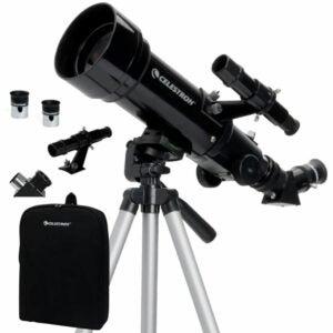 The Best Telescope Option: Celestron - 70mm Travel Scope - Portable Telescope