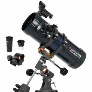 The Best Telescope Option: Celestron - AstroMaster 114EQ Newtonian Telescope
