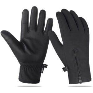 The Best Touchscreen Gloves Option: Unigear Winter Waterproof Gloves for Men and Women
