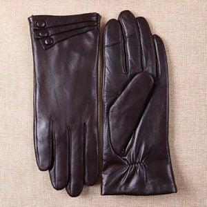 The Best Touchscreen Gloves Option: Warmen Women's Touchscreen Leather Gloves