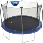 The Best Trampoline Options: Skywalker Trampolines 12 Foot Jump N'Dunk Trampoline
