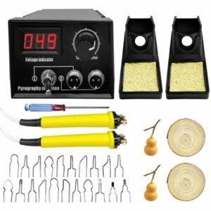 The Best Wood Burning Tool Option: Wattne Upgraded Wood Burning Kit
