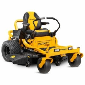 The Best Zero Turn Mower Option: Cub Cadet Ultima ZT2 V-Twin Gas Zero Turn Mower