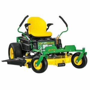 The Best Zero Turn Mower Option: John Deere Z375R Gas Dual Zero-Turn Riding Mower