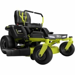 The Best Zero Turn Mower Option: RYOBI Battery Electric Riding Zero Turn Mower