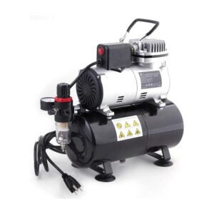 The Best Airbrush Compressor Option: TIMBERTECH Professional Upgraded Airbrush Compressor
