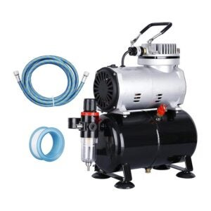The Best Airbrush Compressor Option: ZENY Pro 1 5 HP Airbrush Air Compressor Kit