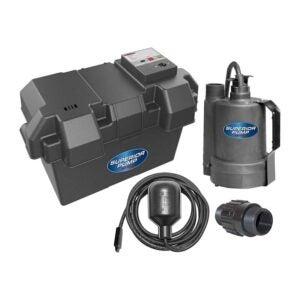 最好的电池备用泵泵选项:高级泵92900 12V电池备份泵浦泵