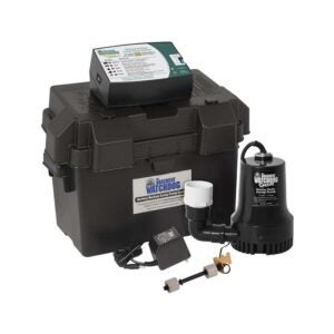 The Best Battery Backup Sump Pump Option: THE BASEMENT WATCHDOG Model BWSP Sump Pump with WiFi