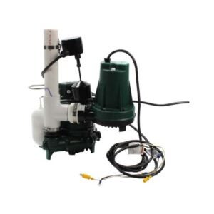 The Best Battery Backup Sump Pump Option: Zoeller Aquanot 508 Sump Pump System w Battery