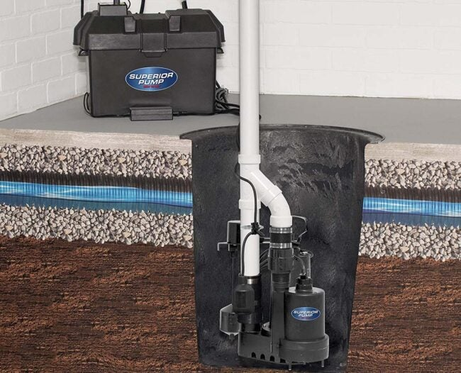 The Best Battery Backup Sump Pump Options